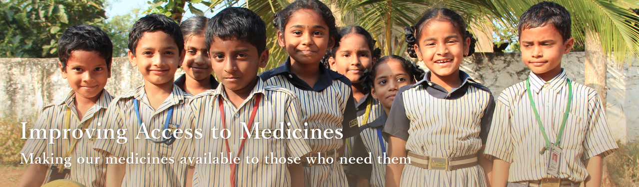 Making our medicines available to those who need them